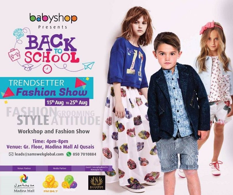 "BACK TO SCHOOL ""Trendsetter Fashion Show"""